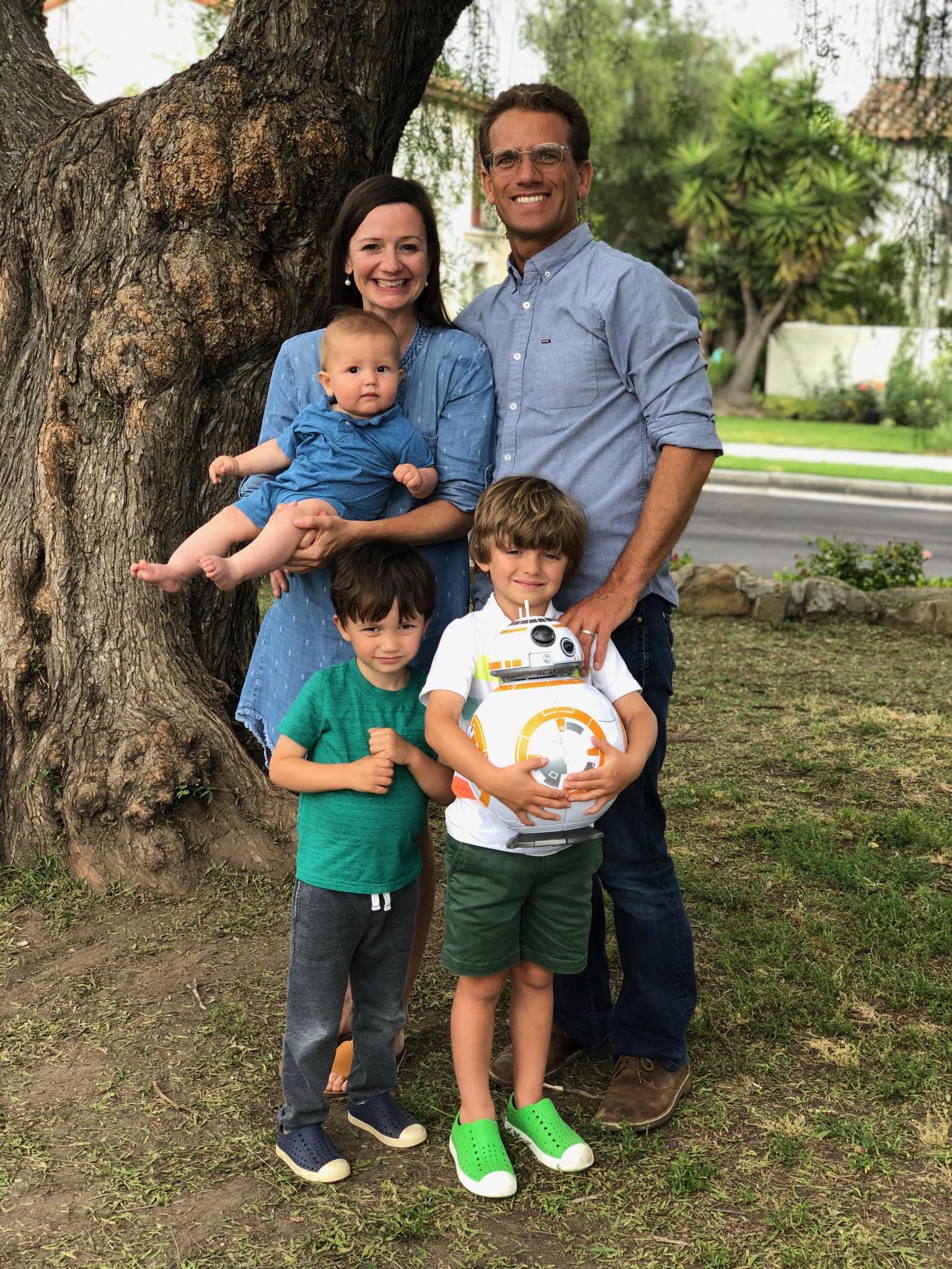 Claassen Family 2019